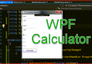 WPF Code Sample: Calculator