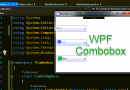 WPF Code Sample: Combobox