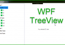 WPF Code Sample: TreeView