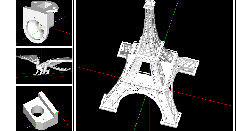 MFC Project Sample: MFC – OpenGL STL Viewer